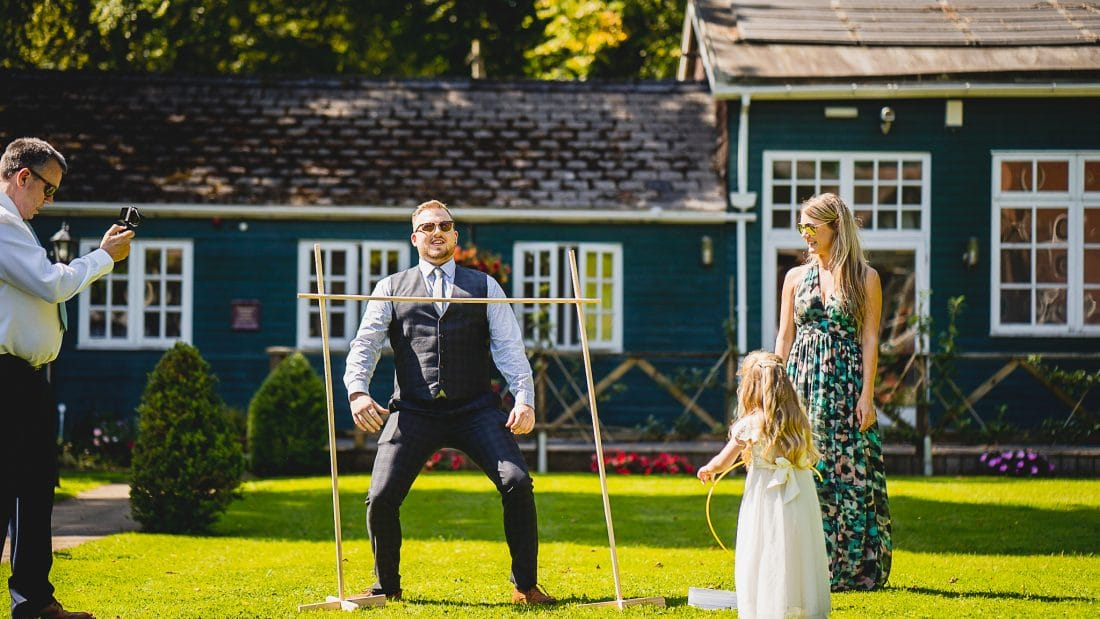 Wedding planning ideas for lawn games