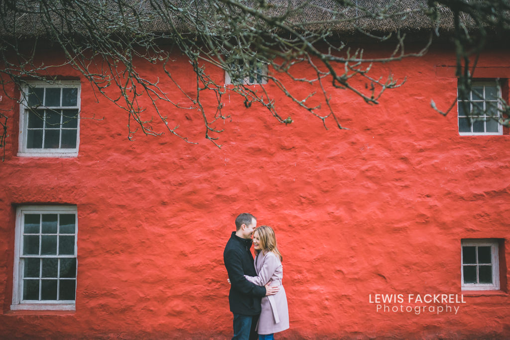 st fagans pre-wedding photo shoot
