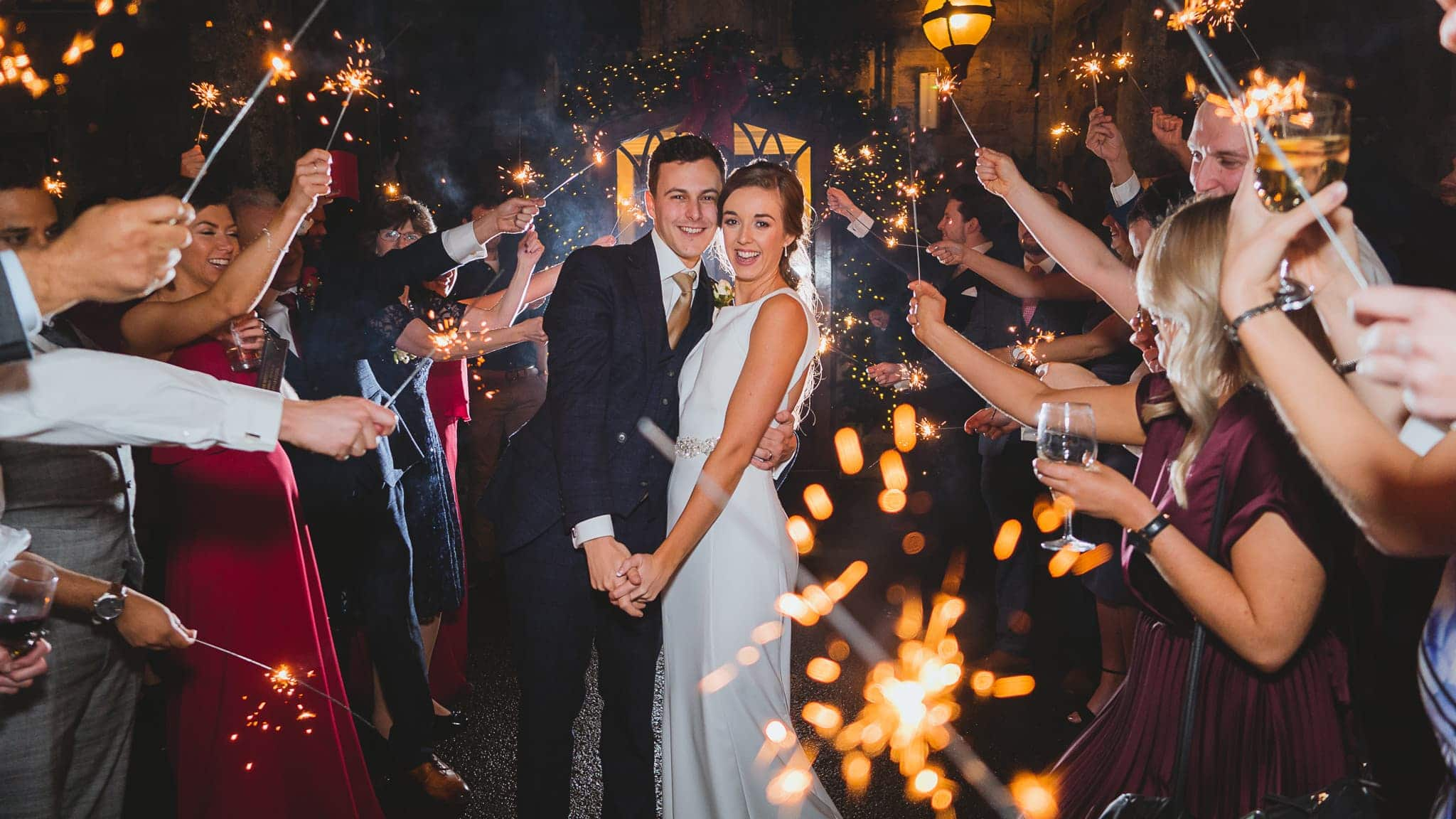 Wedding Sparklers at your wedding