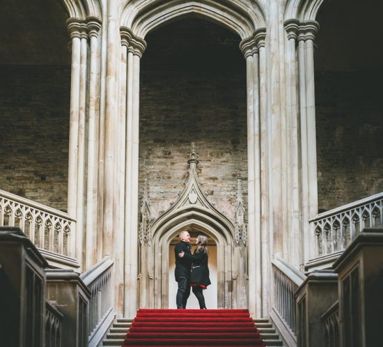 pre-wedding at Margam staircase