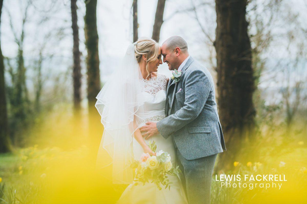 Coed y Mwstwr wedding photography in spring