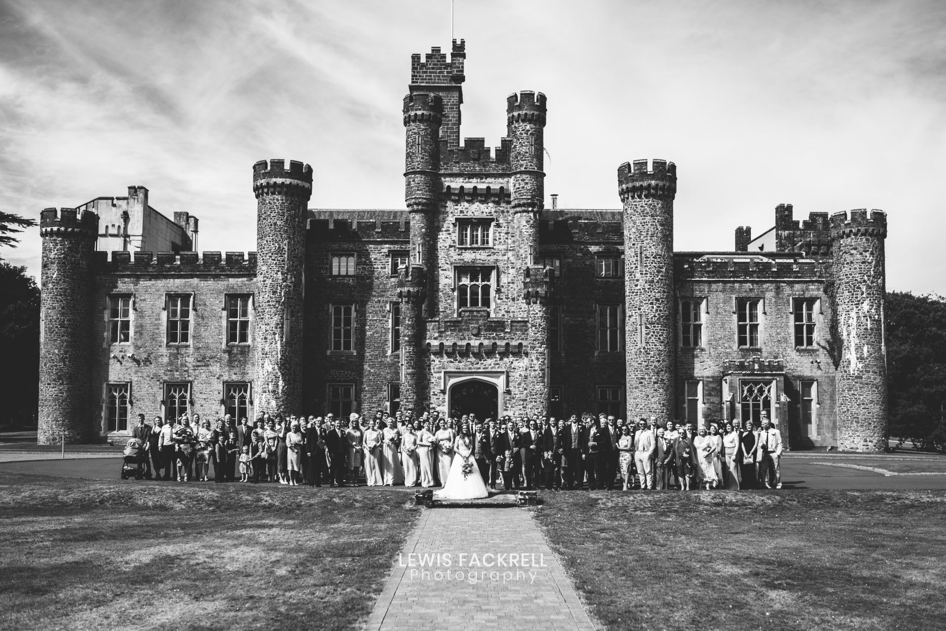 Hensol Castle formal group photography
