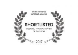 Shortlisted wedding photographer south wales