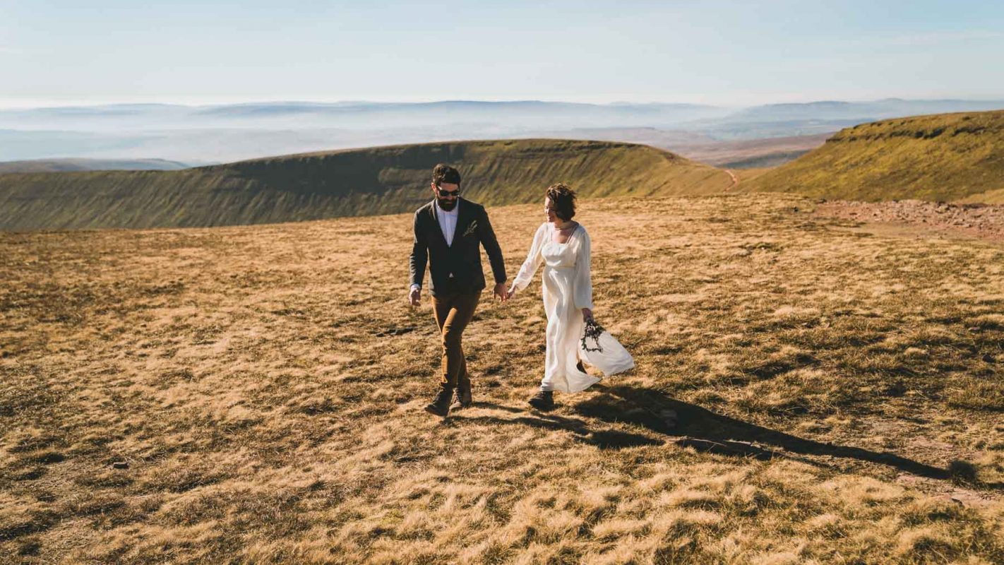 Cardiff Wedding photographer couple married Brecon photography