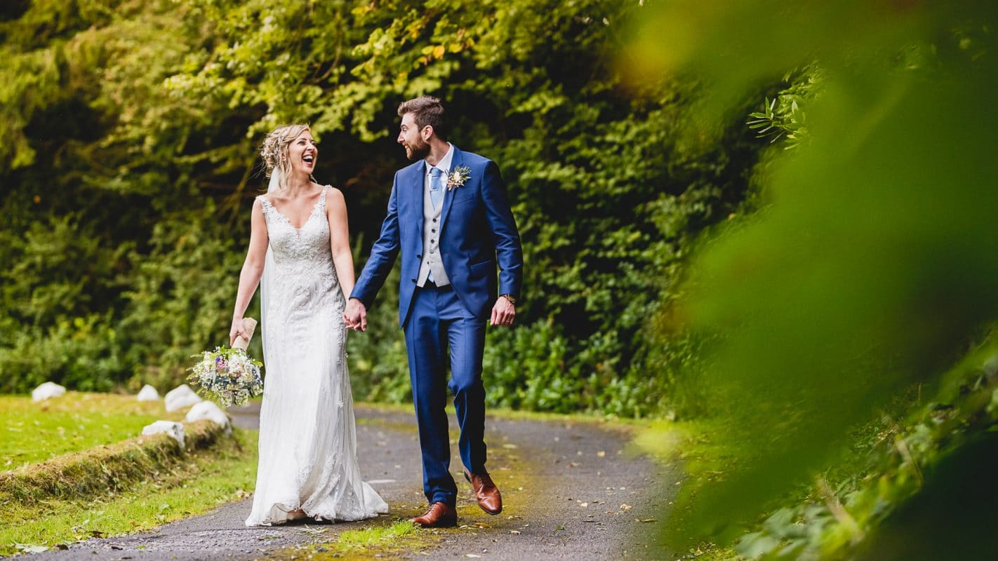 Summer wedding in Swansea captured by wedding photographer